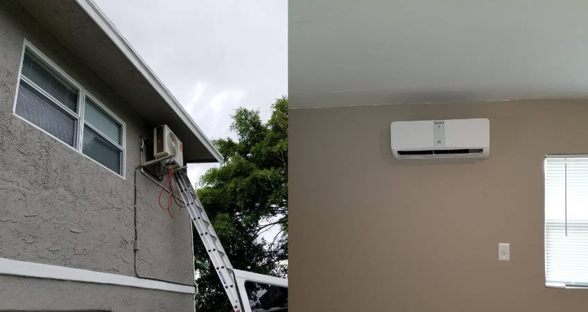 Mini Split System installation and service Klima Tech South Florida